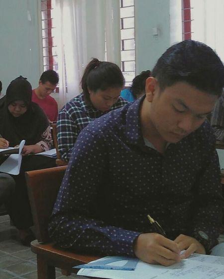 Final exams, SARMAG Institute Of Technology Yogyakarta Yogyakarta, Indonesia