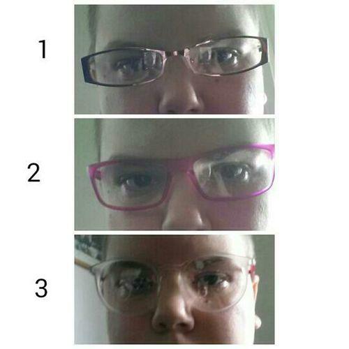 Fått hem nya glasögon å pröva... vilka tycker ni? ? 1 2 elker tre Glasögon Sweden Sverige Nya