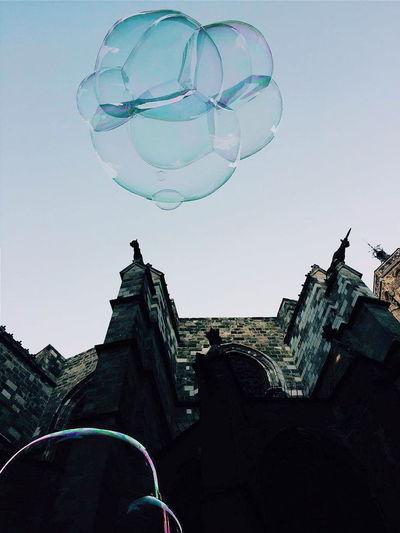 Rooftop Bubbles... Bubbles...Bubbles.... Bubbles In The Sky Bright Sky Enjoying Life EyeEm Gallery Eyemphotography EyeEm Best Shots