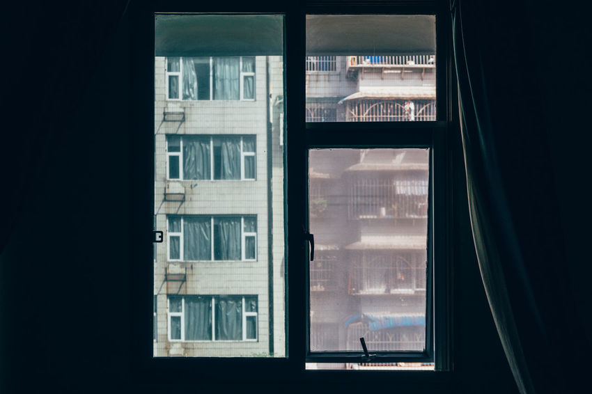 City The Week On EyeEm Travel Architecture China Curtain Glass - Material Looking Through Window Streetphotography Window Window Sill