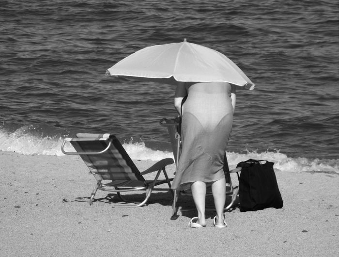 Absence Beauty In Nature Black & White Black And White Day Empty Idyllic Leisure Activity Lifestyles Nature Ocean Outdoors Relaxation Rippled Shore Sunlight Tranquil Scene Tranquility Vacations Water