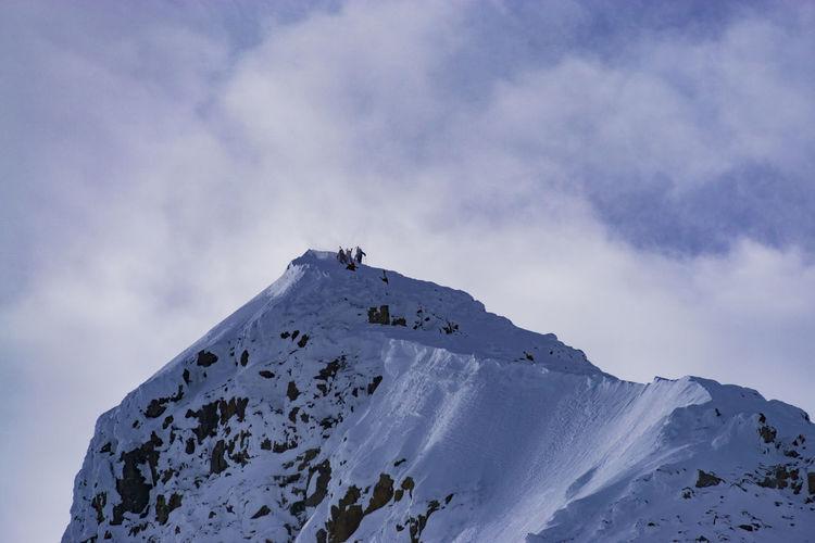 A ski ascent of