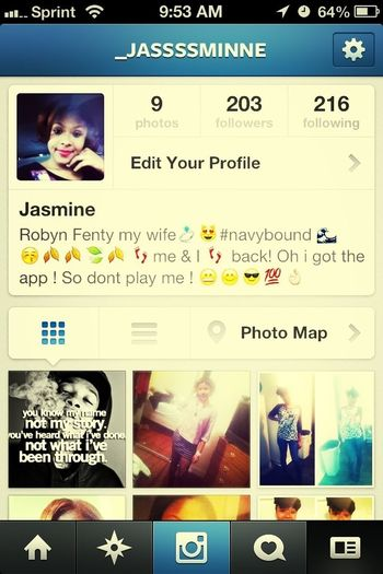 Follow My Instagram @_jassssminne !! I Follow Back!