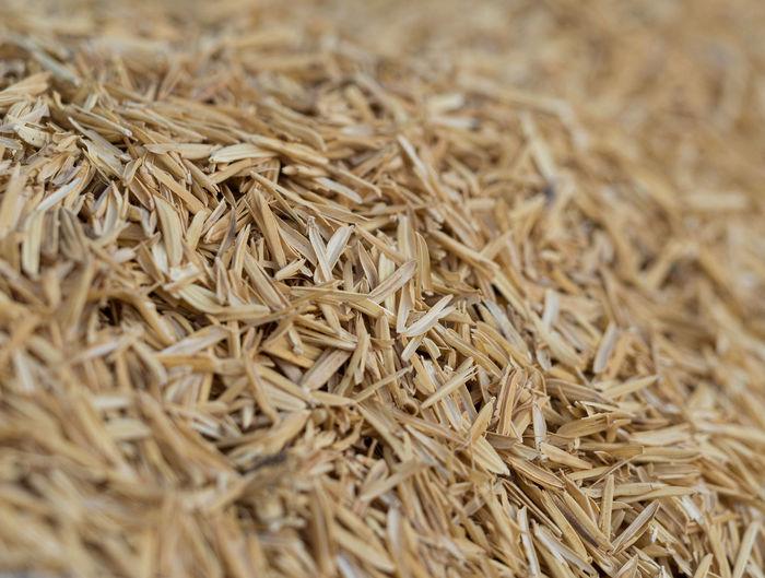 Full frame shot of rice