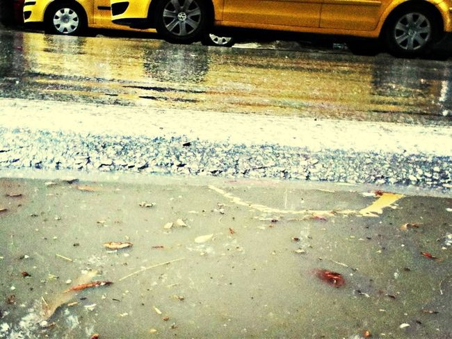 Taxis and rain :)