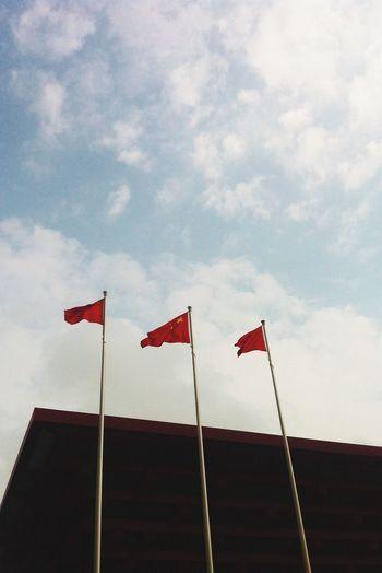 Chinese Flag Enjoying Life Streetphotography Taking Photos