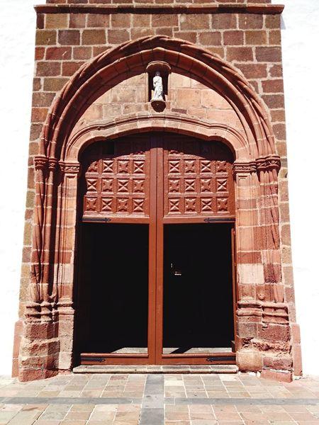 Twins Doors Duets Church Brick Arch Brick