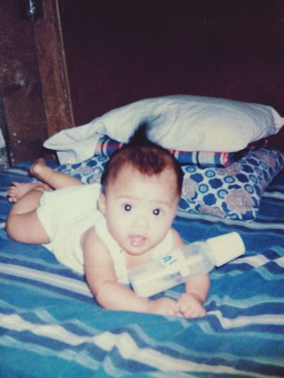 When I am still a baby :)