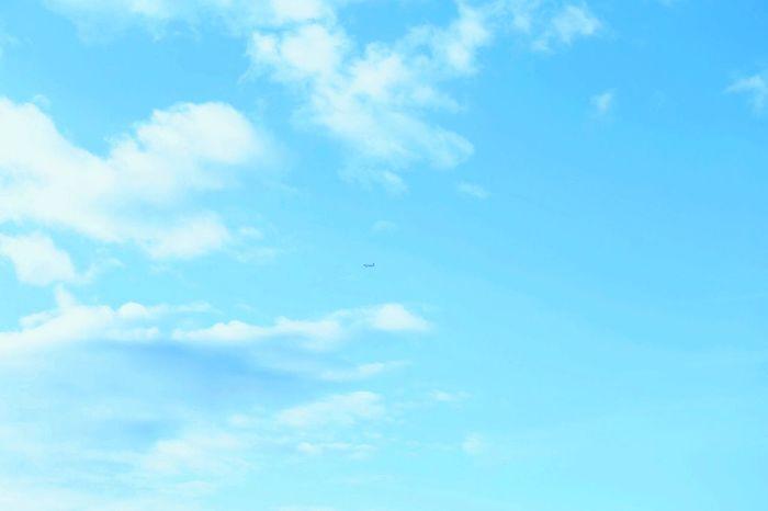Sky ✈️ Sky Clouds Clouds And Sky Mood Nature Hello World Plane