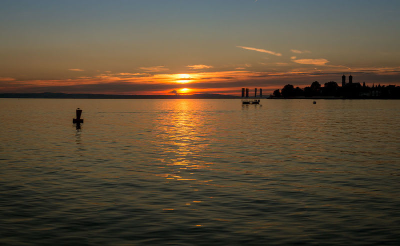 Sunset Sun Sunrise Friedrichshafen Konstanz Bodensee Lake Lake View Night Nightphotography