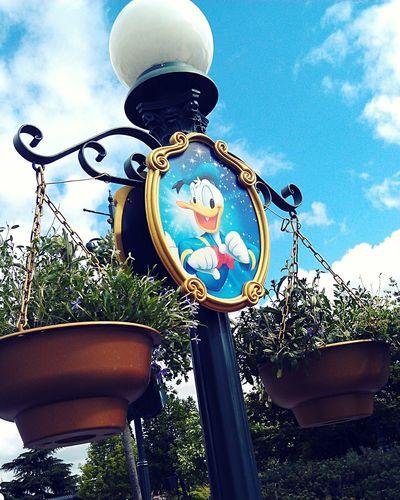Disneylover Disneyland Disney Donald Duck in Disneyland Paris , Paris , France