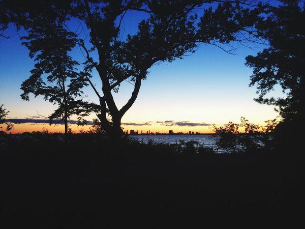 Shadow Sunset Beautiful Magic Hour