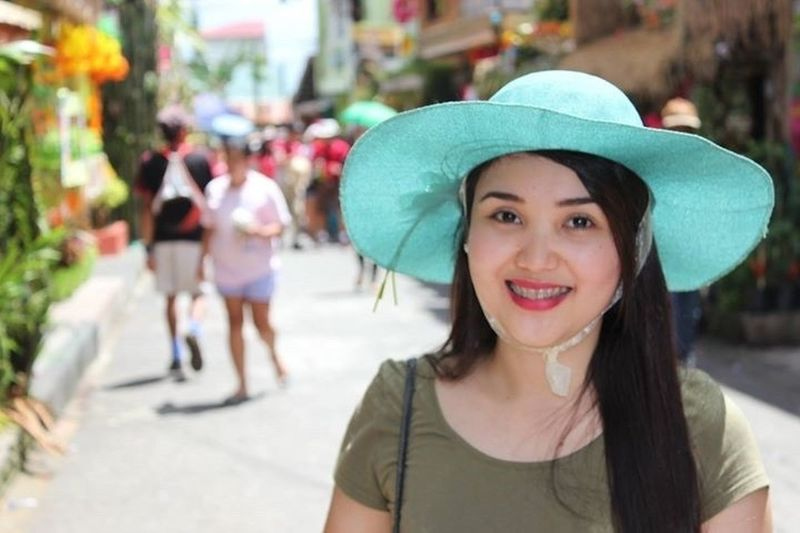 Happy People Happy Happiness Girl Festival Pahiyas PahiyasFestival Lucban Lucban Quezon Philippines Hat