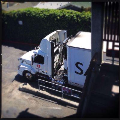 Truck At Safeway Taking Photos IPhone5