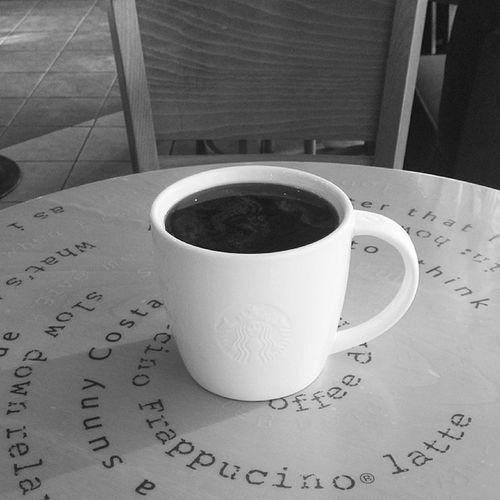 Grande Café Americano at 5:05 pm!? LOL~