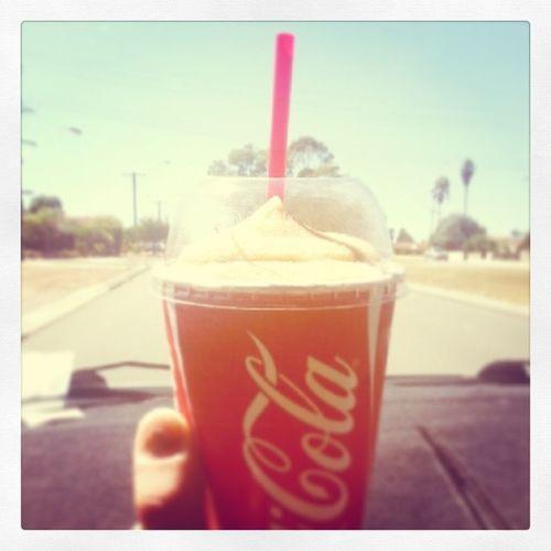 Fuckyeah Summer Cocacola Frozencoke fknlovefrozencoke myman mymanrocks omnomnom lovemyman lovesummer