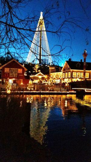 Julmarknad på Liseberg Göteborg, Sweden Gothenburg Liseberg
