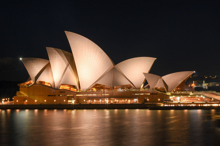 A barkeeper told me to go up this tower, you will have a better sight. So did I EyeEm Selects Night Travel Destinations Arts Culture And Entertainment Cityscape Architecture Outdoors Modern No People Harbor Water Symbol Sydney, Australia Sydney Opera House Long Exposure Australia