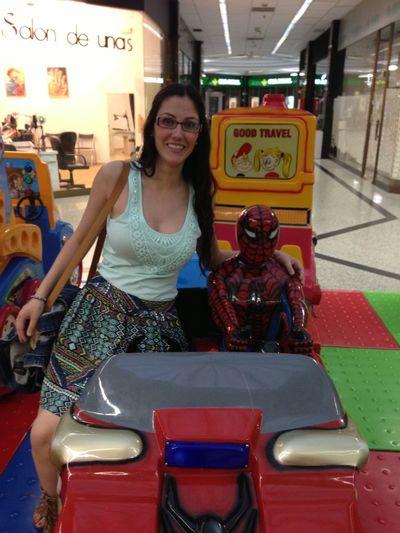 Con Mi Amigo Spiderman Jejeje