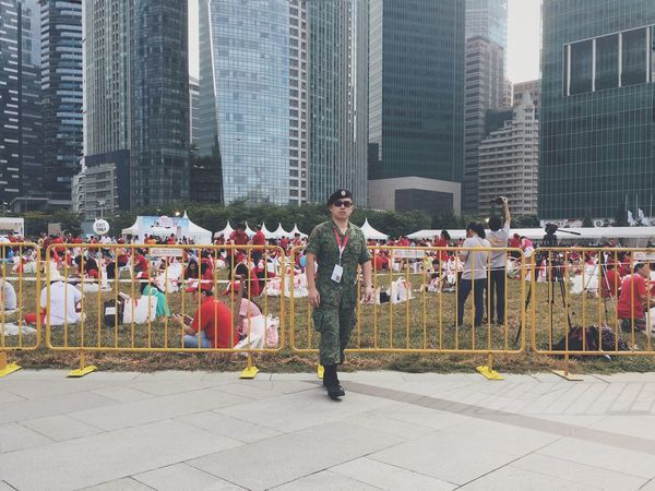 SAF on duty Streetphotography Streetphoto_color Sg50 Ndp2015