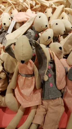Stuffed Toy Large Group Of Objects No People Toy Toys Pink Color Pink Millennial Pink Bunny 🐰 Rabbit 🐇 Bunny Rabbit Easter Easter Bunny Cuddly Toy Soft Toys