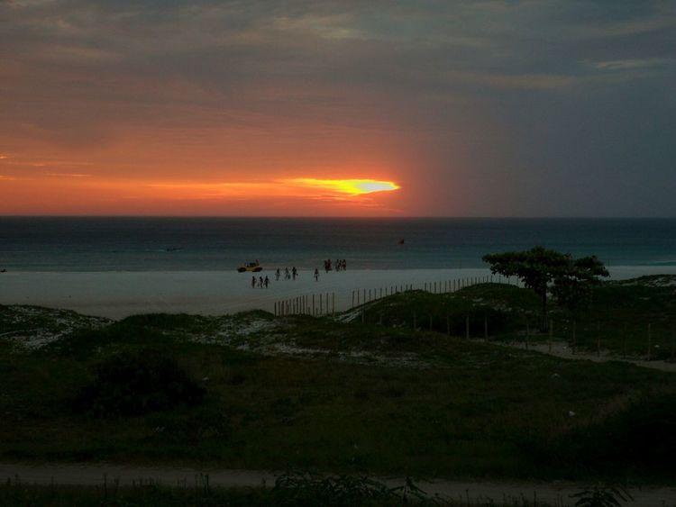 Sunset Nature Summer Beach Horizon Over Water Water Sea Ceuemar Natureza 🐦🌳 Rio De Janeiro, Brazil Arraial Do Cabo Arraialdocabo