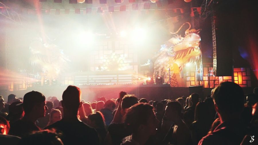 Music Stage - Performance Space Audience Performing Arts Event Arts Culture And Entertainment Crowd Nightlife Large Group Of People Fan - Enthusiast Popular Music Concert People Stage Light Night Performance Group Live Event Artist h MC Mcsherlock Naffz Dj Performance