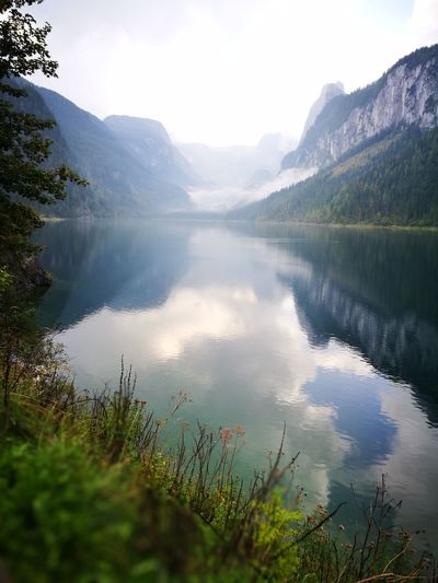 Mountain Majestic Lake Nature Travel Destinations Wilderness Beauty In Nature Water