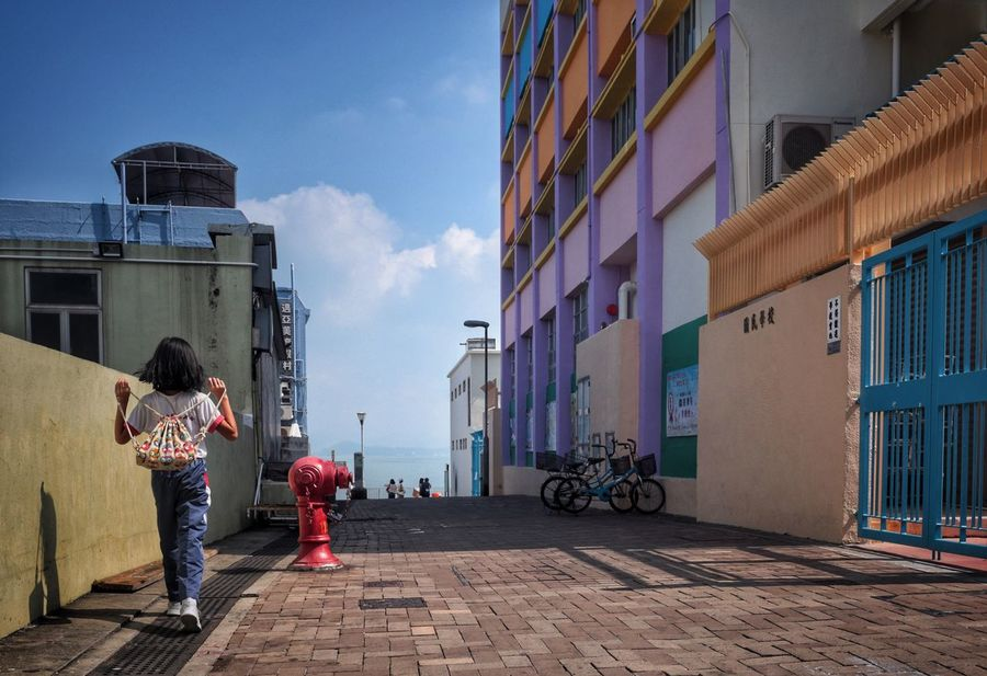 Building Exterior Built Structure Architecture Leisure Activity Sunny Day Hong Kong