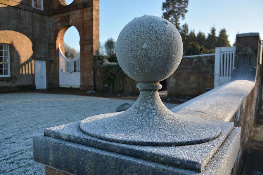 The Hunting Lodge of The Duke of Hamilton Castle Daylight Hunting Lodge Scotland Sky Winter