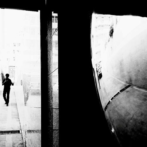 Walking Around Walk This Way Blackandwhite Black & White Blackandwhite Photography Streetphotography Perspective Reflections Mindtrip Bnw