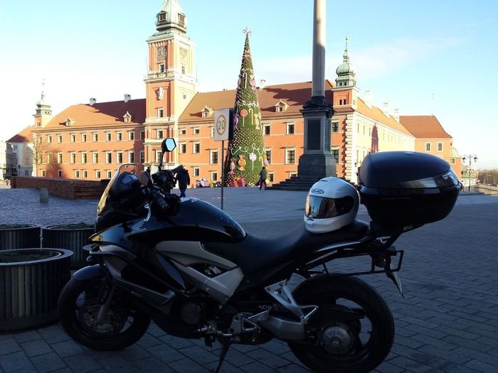 Warsaw Old Town Motorcycle Trip