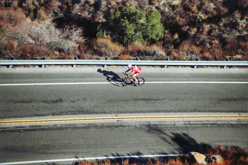Rolling Down The Road Bicycling Sport Lifestyles Transportation Road Bicycle Recreation  Bicycles Highways&Freeways Riding ForTheLoveOfPhotography From My Point Of View Perspective Sports Photography Lifestyle Photography