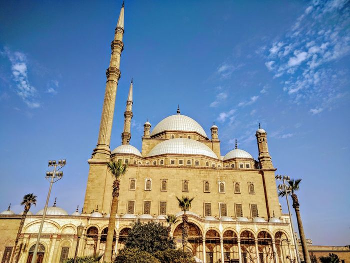 citadel of Salah Eldin and the mosque of Mohamed Ali Ancient Egypt Best EyeEm Nature Winter Old Buildings Best EyeEm Shot History Old Place Cairo Dome Religion Travel Destinations Architecture Sky Blue Day Outdoors