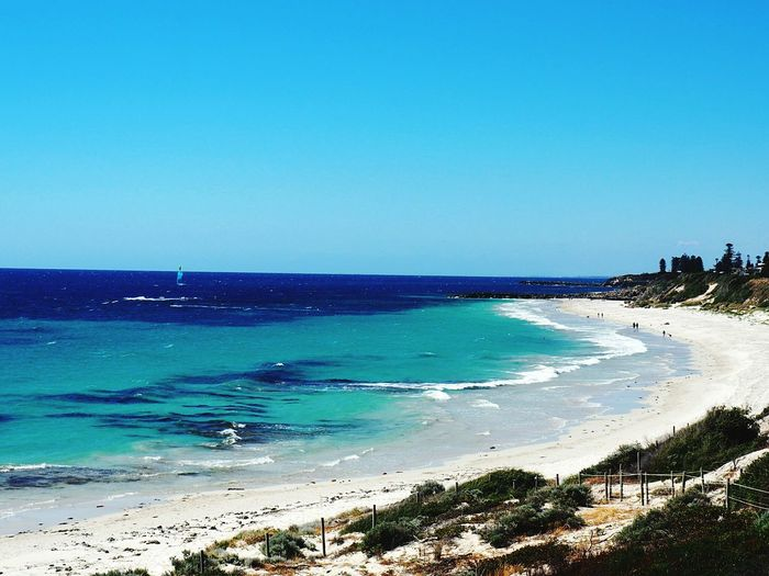 North Fremantle beach Perth, Australia🇦🇺 Australia Perth Australian Landscape Wanderlust sea Beach Travel Destinations Horizon Over Water Tourism Water Beauty In Nature Outdoors Scenics Coastline Nature Sand Day Wave No People Vacations Sky