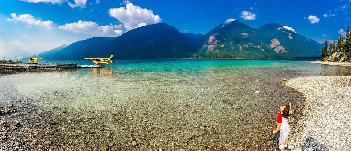 Muncho Lake Canada Sea Plane