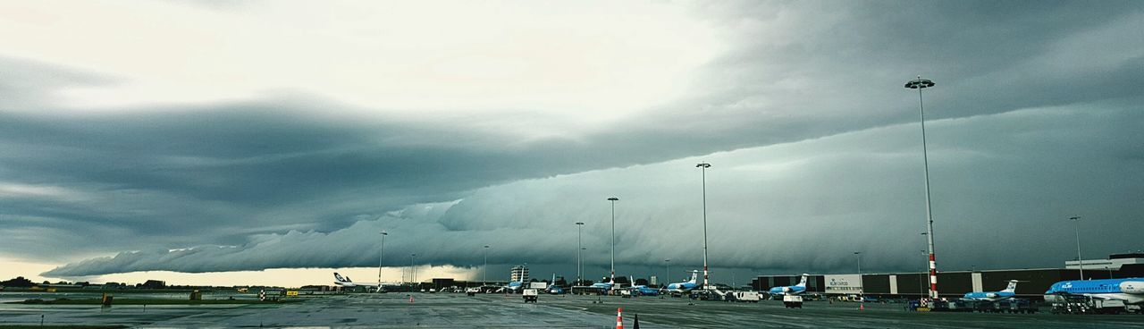 Bad Weather Rain Cloudscape Clouds Schiphol Airport Airport KLM Weather Photography WeatherFront
