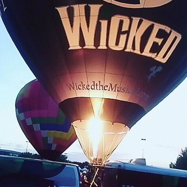 Mix Yourself A Good Time hot air balloon Low Angle View Close-up Outdoors Sky Multimedia Journalist Reggie Banks Sr Beauty In Nature Illuminated Standing Out From The Crowd The Week On EyeEm HUAWEI Photo Award: After Dark