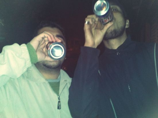 Drinking Beer
