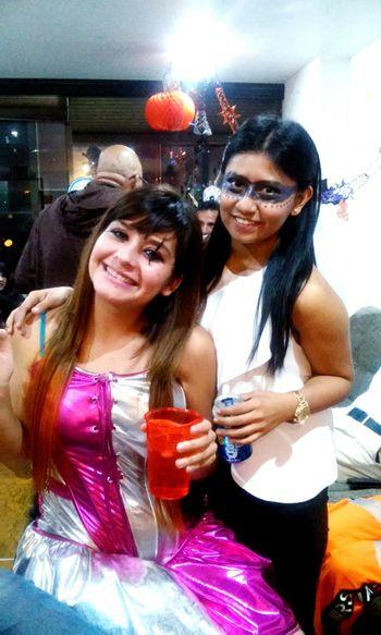 Halloween! Arlequín Antifaz Friends ❤