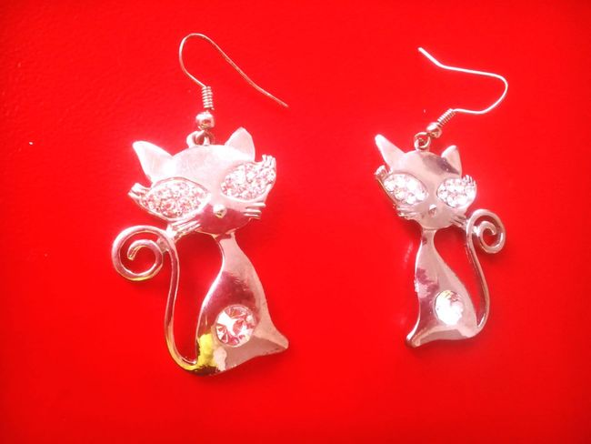 Earrings Cats My Collection
