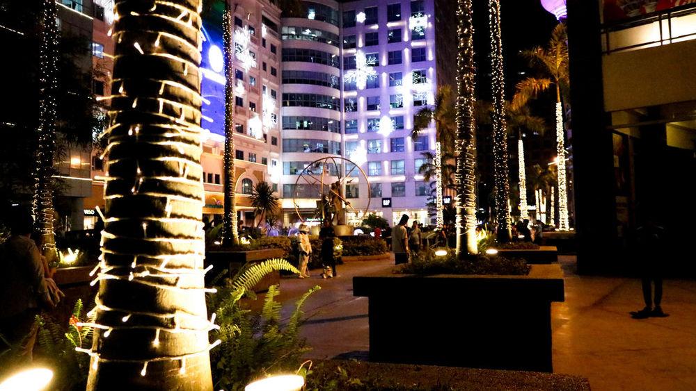 City Dark Eastwood Fairy Lights Manila, Philippines Nightphotography No People Outdoors Travel Destinations