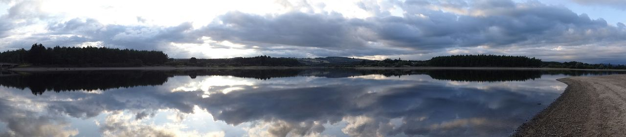 Sunset Clouds Lake WaterReflection Evening The Purist (no Edit, No Filter) Traveling Landscape EyeEm Nature Lover A Moment Of Zen... Eyeem Ireland Shades Of Blue Water Reflection Quietly Landscapes With WhiteWall The Great Outdoors With Adobe