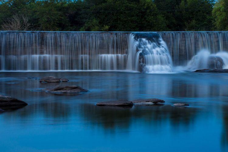 La juntura Water Nature Waterfall Long Exposure Travel Destinations Beauty In Nature Outdoors No People