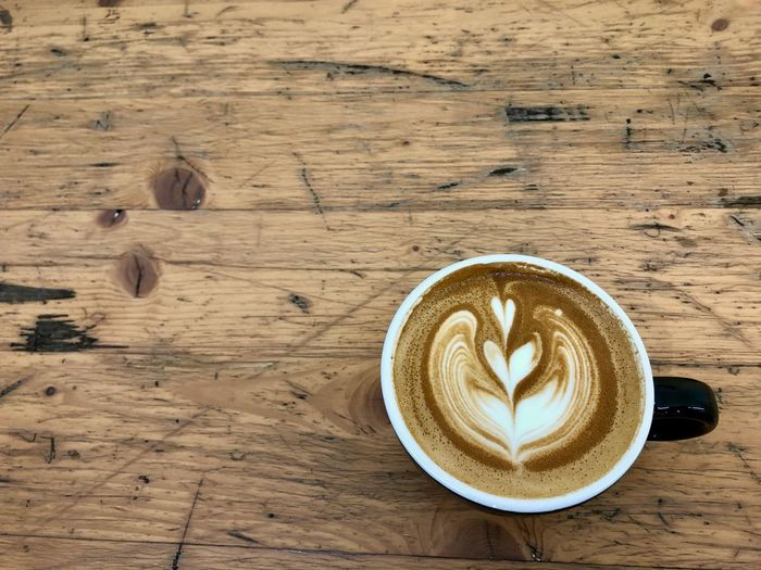 ☕️ Hot Drink Non-alcoholic Beverage Caffeine Directly Above Coffee Cup Freshness Latte