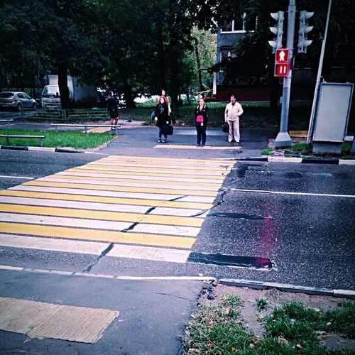 Street Pedestrian Walk