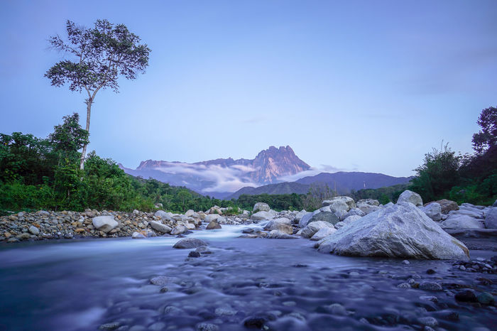 Amazing View Blue Hour Golden Hour Kota Belud Melangkap River River View Sabah Borneo Sunrise Sunset Tropical Paradise