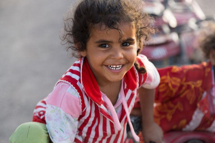 The Portraitist - 2015 EyeEm Awards Kid Wüste  Lachen Lächeln Smile Children Portrait