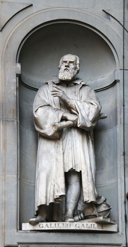 Detailed Artwor Famous People Florence Galileo Galilei Italy Italy❤️ Sculpture Statue Tourist Attraction  Touristic Destination