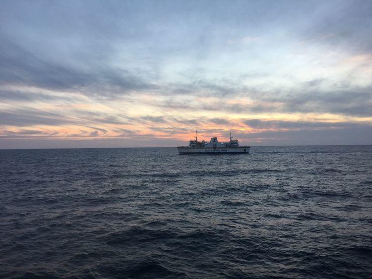 Ferry at sunset EyeEmNewHere